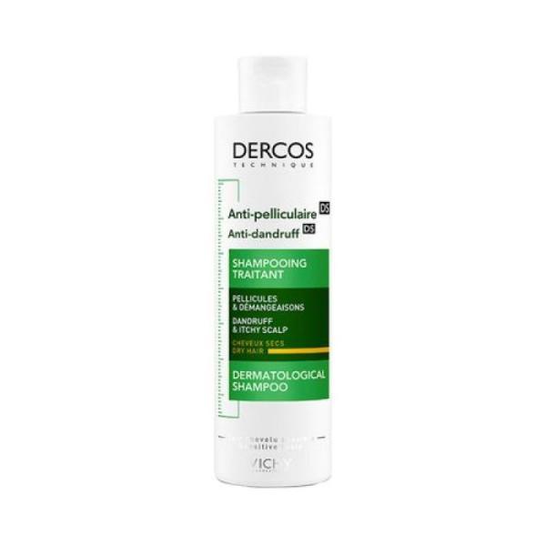 Vichy Dercos Anti-Dandruff DS Shampoo For Dandruff & Scalp Hair- 200 Ml