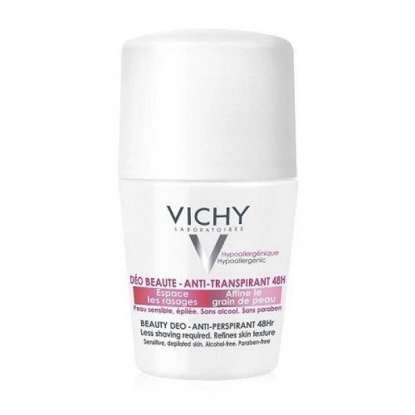 Vichy Beauty 48Hr Antiperspirant Roll-On Deodorant - 50 Ml