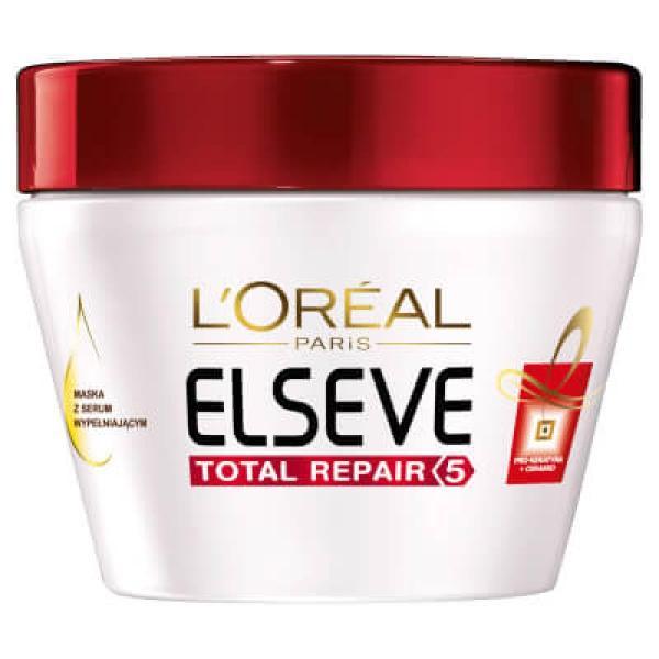 L'oréal Paris Elvive Total Repair 5 Mask With Serum Filling 300ml
