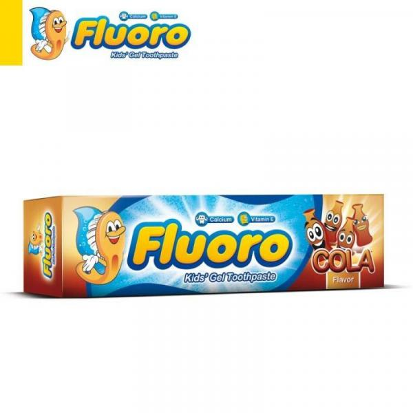 Fluoro Kids Toothpaste with Cola flavour 50 gm