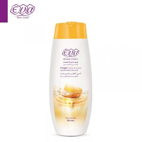 Eva Shower Cream Enriched With Honey: 400 ml