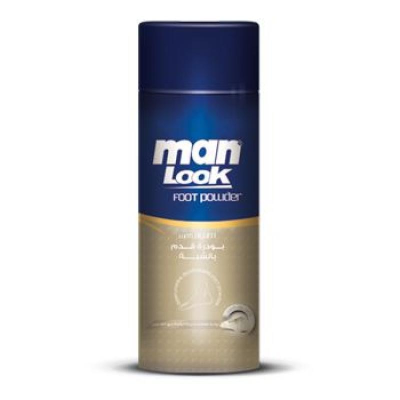 Man Look Foot Powder with Alum 50 gm