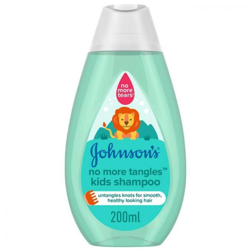 Johnson's No More Tangles Kids Shampoo - 200ml